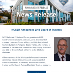 LPR Boasts 2018 Board of NCCER Trustees Chairman, Rocky Turner
